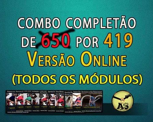 CURSO COMPLETÃO VERSÃO DIGITAL (ou 10X de R$48 no Cartão)